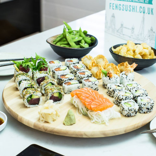 Feng Sushi Ravenscourt Park Japanese In London Greater London The Gourmet Society Diners Card