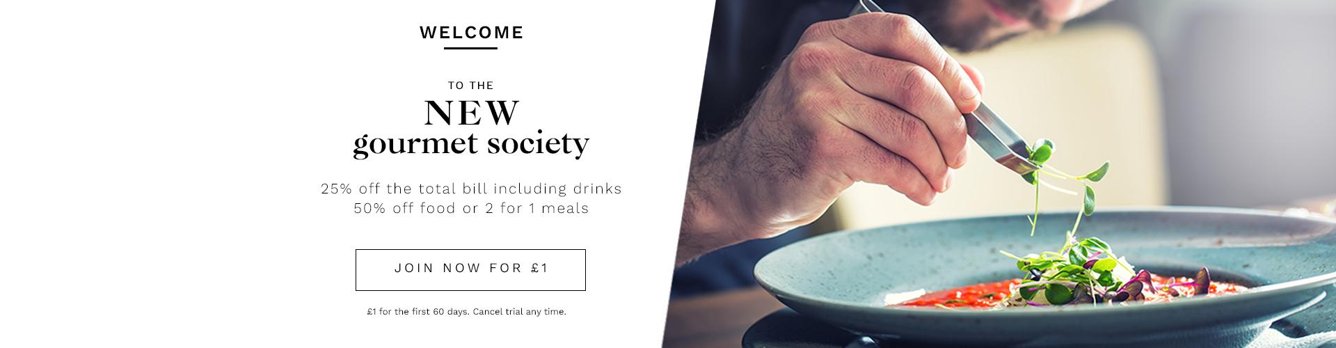 Join Gourmet Society