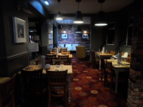 The tap kitchen restaurant at the brooklands tap british for The brook kitchen and tap