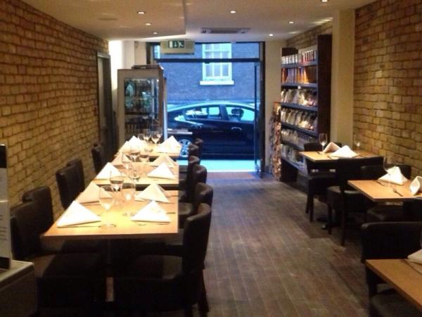 La cucina italian in london greater london the gourmet - Cucina restaurant london ...