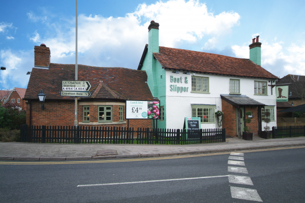 Boot & Slipper, Amersham - Chef & Brewer