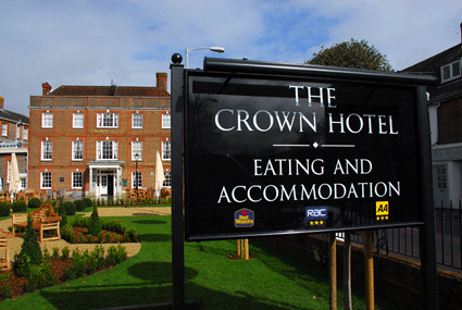 Crown Hotel, Blandford Forum - Hall & Woodhouse