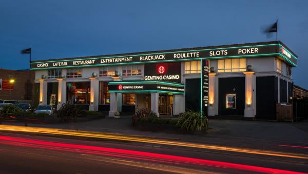 Genting casino reading restaurant menu