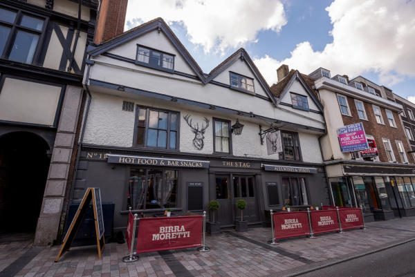 The Stag Maidstone >> The Stag British In Maidstone Kent The Gourmet Society