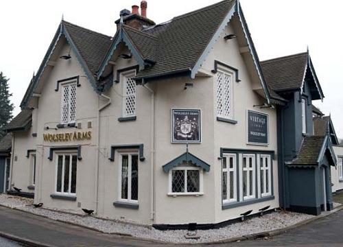 The Wolseley Arms, Wolseley Bridge - Vintage Inns