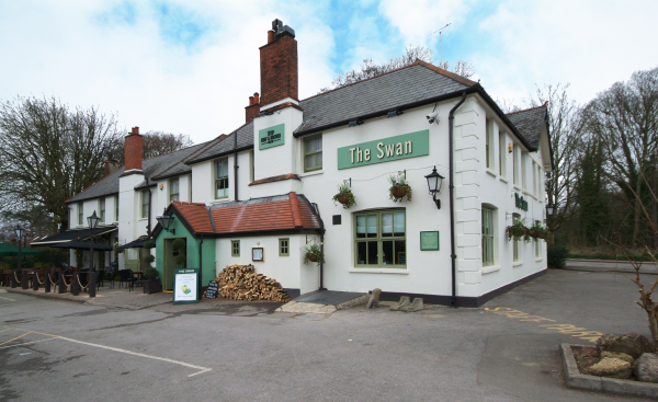Swan, Aldershot - Chef & Brewer